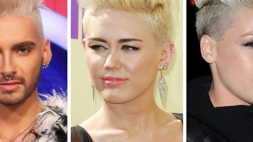 Haariges Battle! Bill Kaulitz vs. Miley vs. Pink