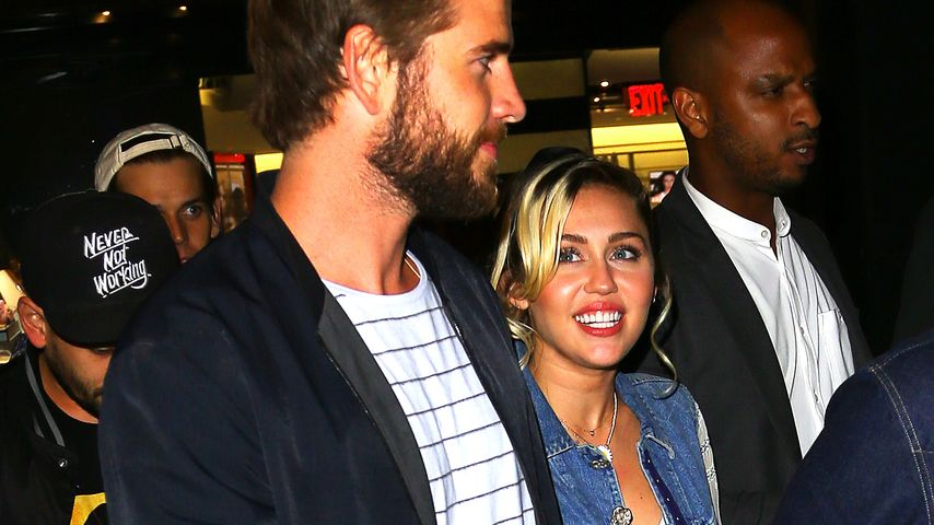 Miley Cyrus und Liam Hemsworth unterwegs in NYC