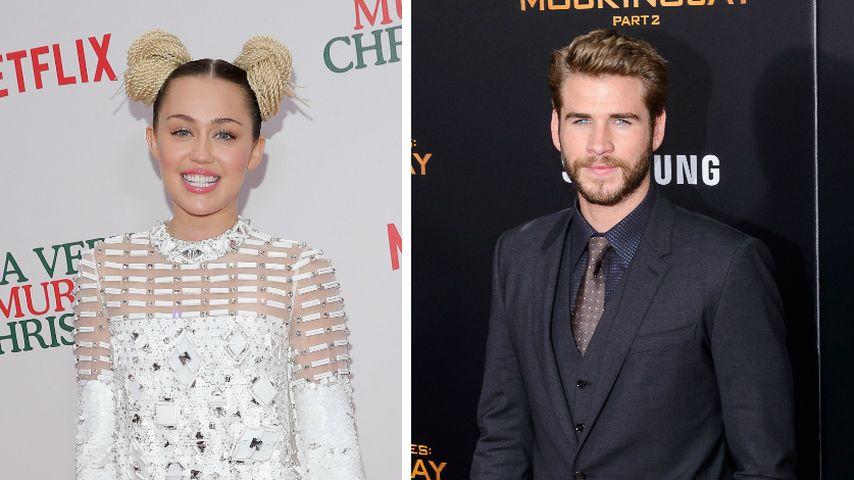 2. Chance? Miley Cyrus & Liam Hemsworth knutschend erwischt!