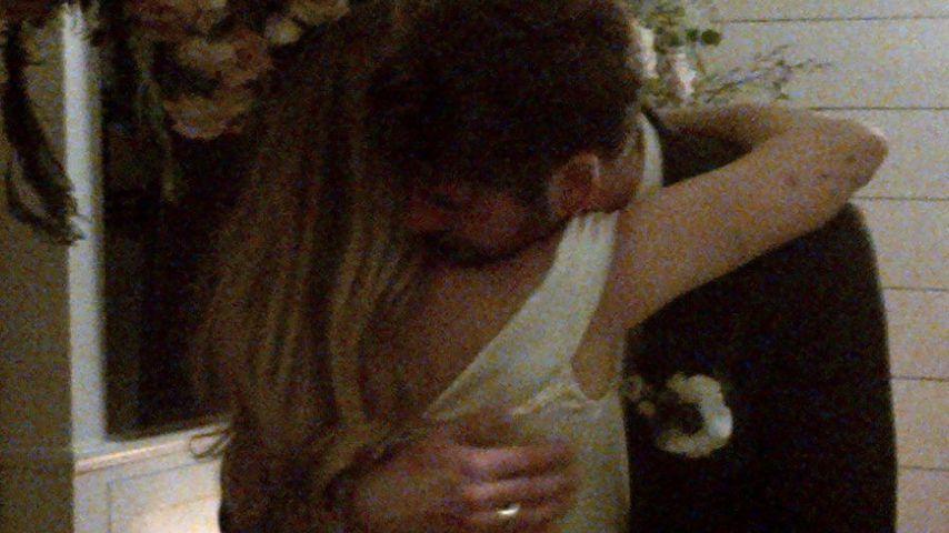 Miley Cyrus und Liam Hemsworth an ihrer Hochzeit