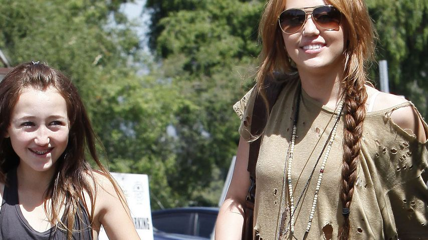 Miley Cyrus und Noah Cyrus
