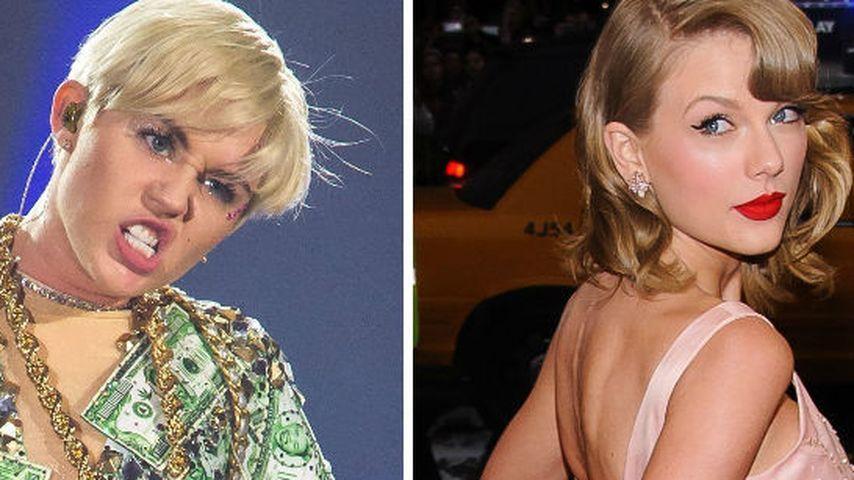 Teenie-Krieg? Miley Cyrus ätzt gegen Taylor Swift