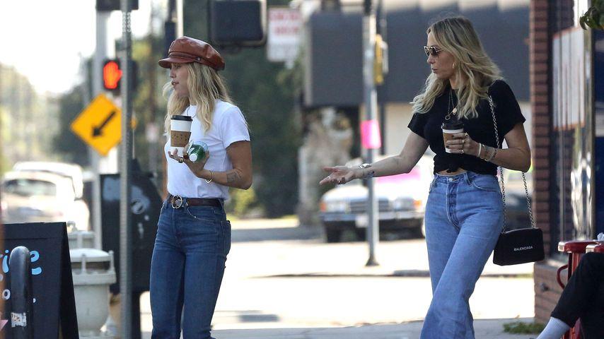 Miley Cyrus und ihre Mutter Tish Cyrus im Oktober 2019