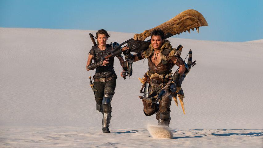 """Milla Jovovich und Tony Jaa in """"Monster Hunter"""""""