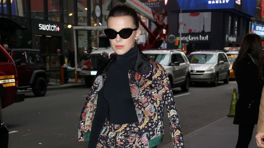 Millie Bobby Brown in New York City