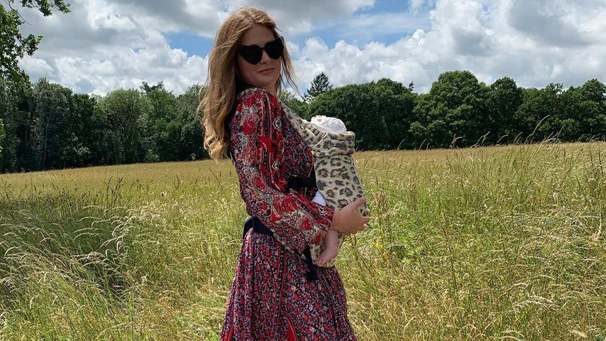 Millie Mackintosh mit ihrer Tochter Sienna