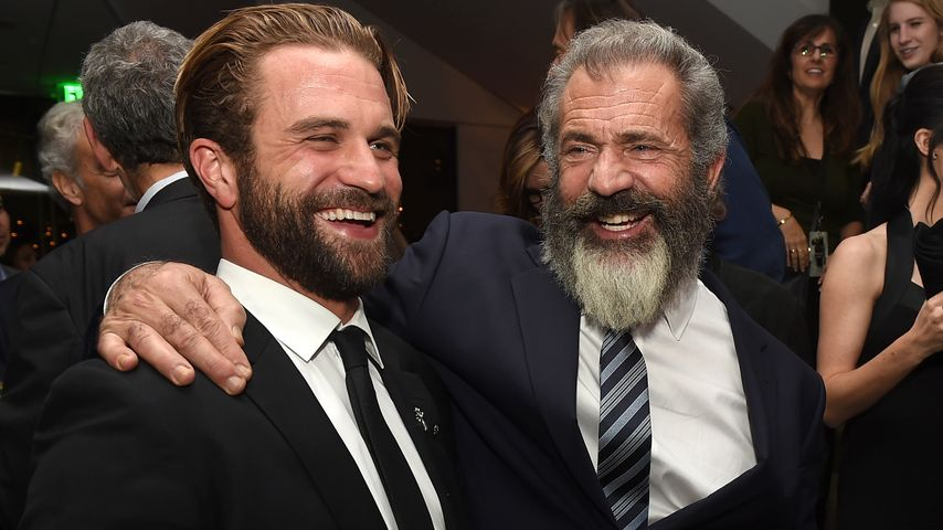 Schauspieler Milo und Mel Gibson