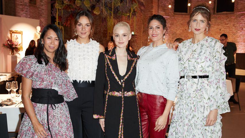 Minh-Khai Phan-Thi, Janina Uhse, Emilia Schüle, Jasmin Gerat und Eva Padberg