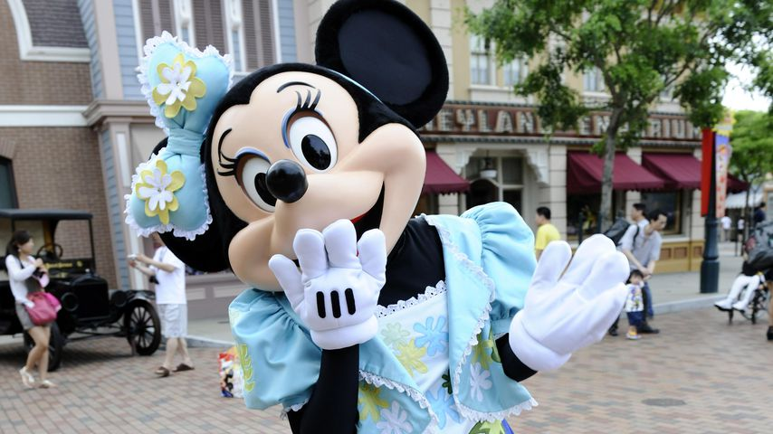 Minnie Mouse im Disneyland, Hong Kong