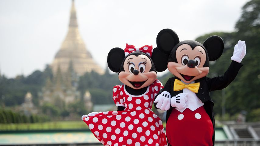 Minnie und Micky Maus