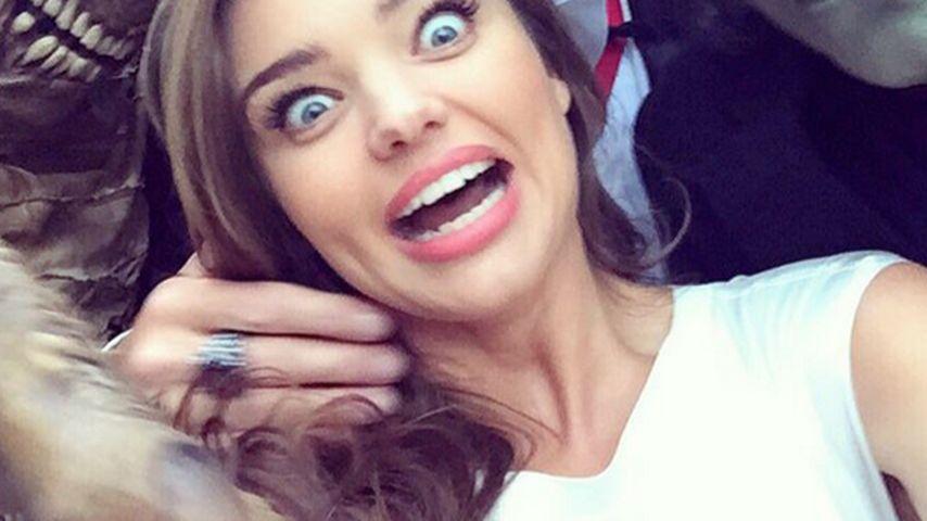 Horror-Selfie: Miranda Kerr von Monstern umzingelt