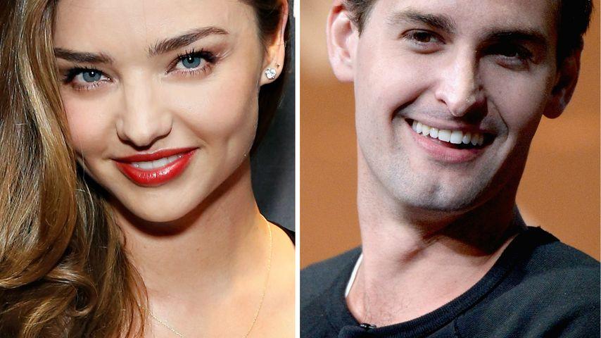 Frisch verliebt: Miranda Kerr datet Internet-Milliardär!