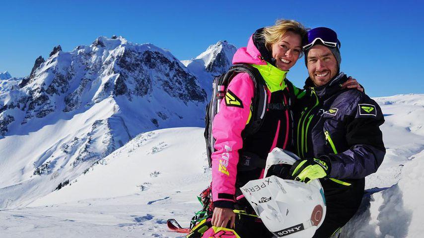 Miriam Höller und ihr Partner Nate, Januar 2019