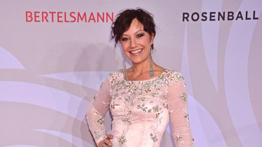 Miriam Pielhau beim Rosenball in Berlin
