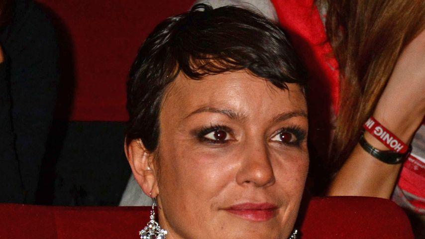 """Miriam Pielhau bei der Kinopremiere """"Honig im Kopf"""" 2014 in Berlin"""
