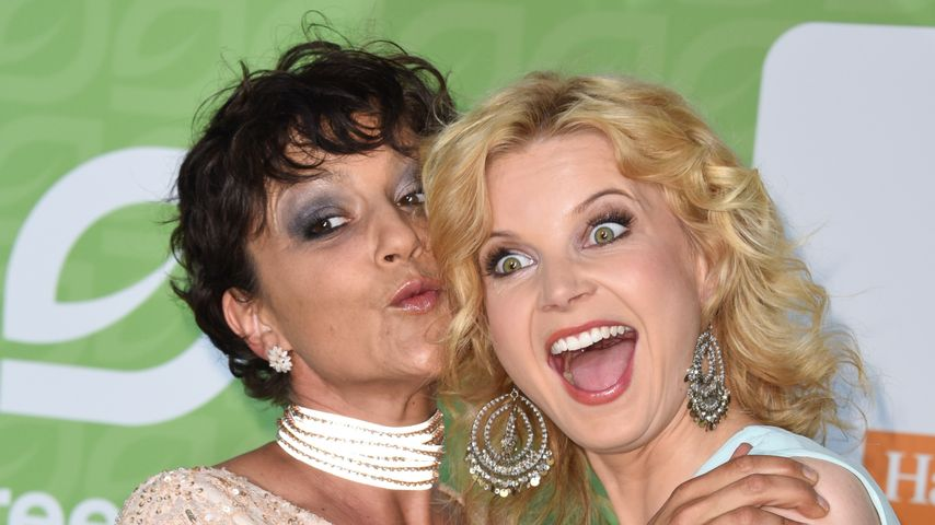 Miriam Pielhau und Eva Imhof bei den GreenTec Awards 2015