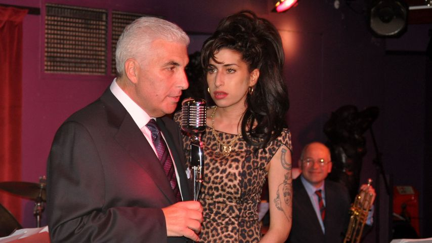 Amy Winehouse und Mitch Winehouse