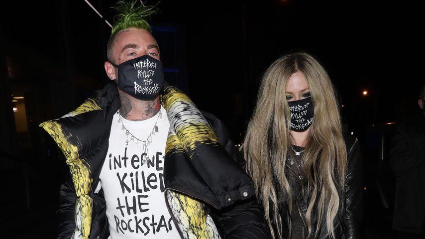 Mod Sun und Avril Lavigne in West Hollywood