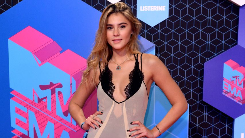 Model Stefanie Giesinger bei den MTV EMAs 2016