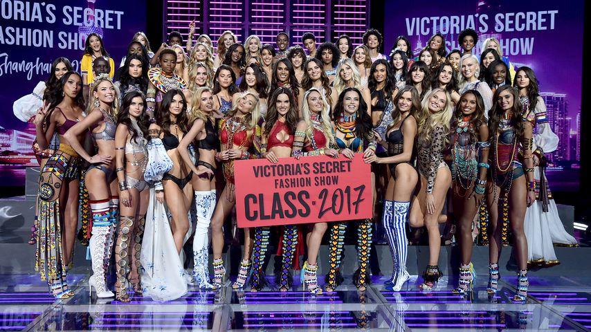 Sexy Aftershow-Party: Die VS-Engel in megaheißen Kleidern!