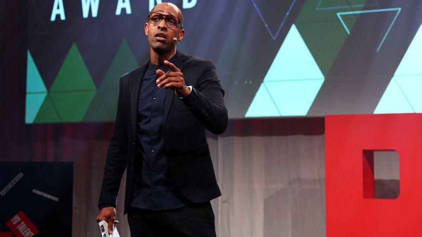 Moderator Amiaz Habtu im April 2018