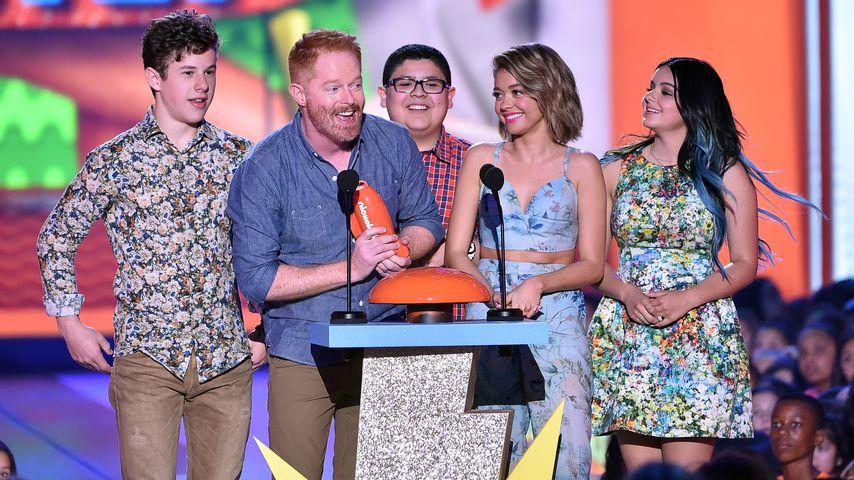 Der Cast von Modern Family bei den 28. Nickelodeon Kid's Choice Awards