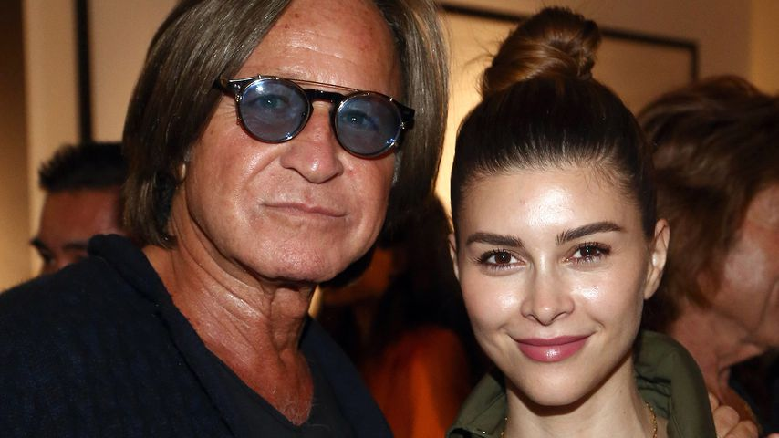 Mohamed Hadid und Shiva Safai im Oktober 2018 in Los Angeles