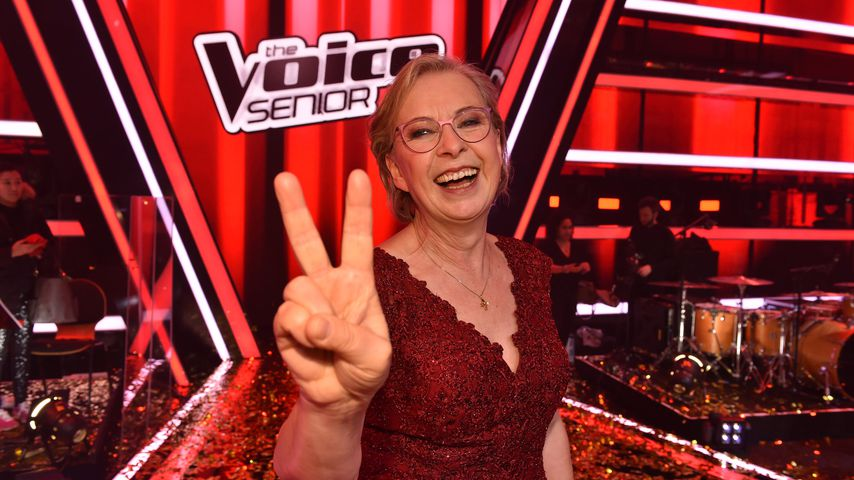 "Monika Smets im Finale von ""The Voice Senior"""