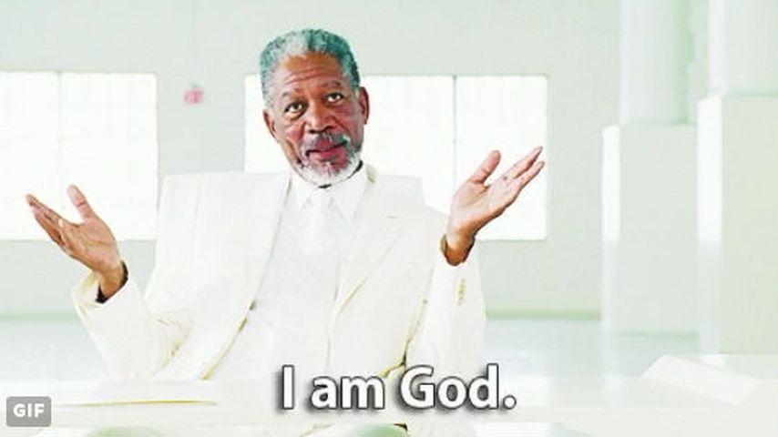 Morgan Freeman als Gott in Bruce Allmächtig