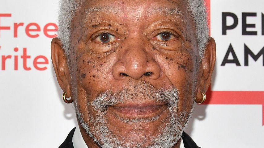 Morgan Freeman bei der PEN Literary Gala 2018 in New York City