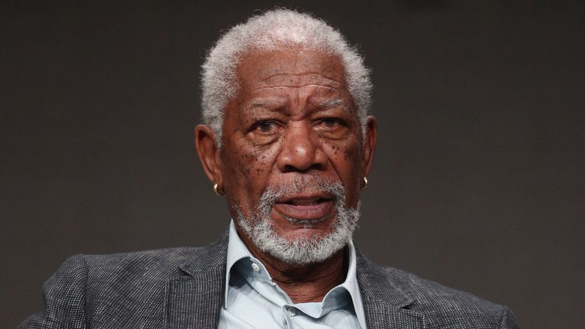 Morgan Freeman im Juli 2017