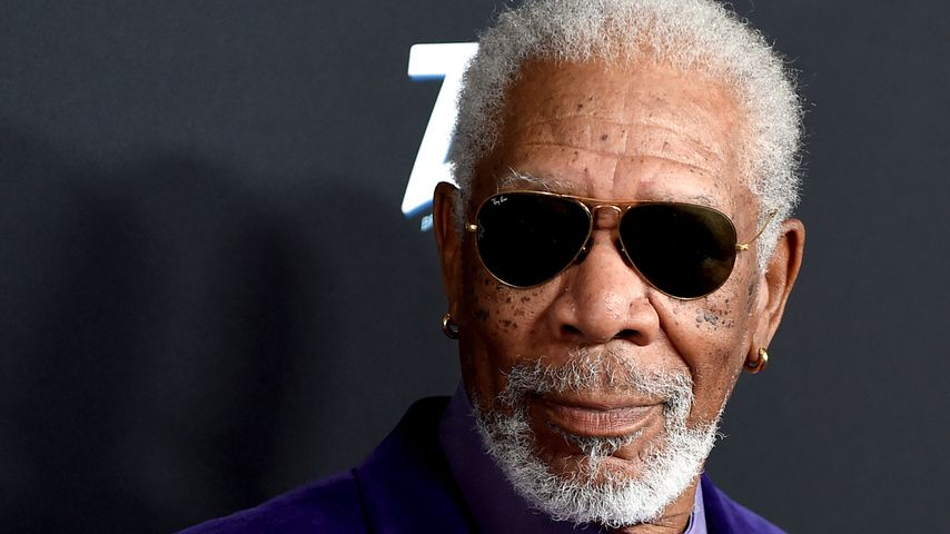 Morgan Freeman im Oktober 2018