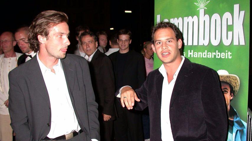 Moritz Bleibtreu und Lucas Gregorowicz