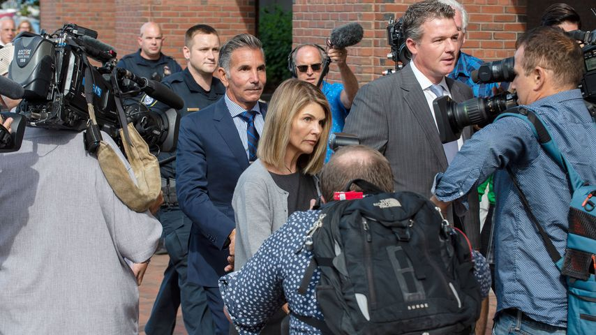 Mossimo Giannulli und Lori Loughlin 2019 in Boston