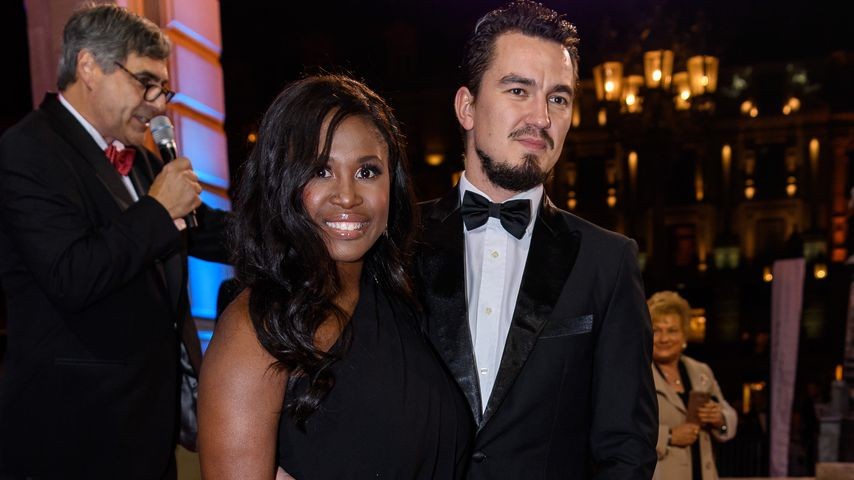 Motsi Mabuse und Evgenij Voznyuk beim Sports Media Ball in Frankfurt a.M.