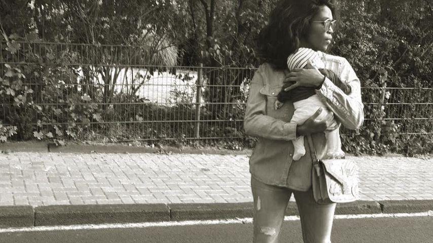 Motsi Mabuse und ihr Töchterchen