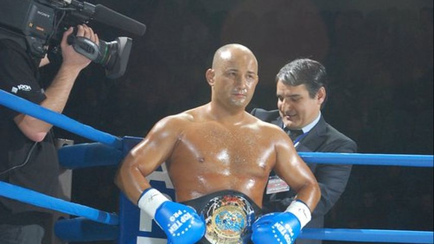 Musa Musalaev beim Kampf