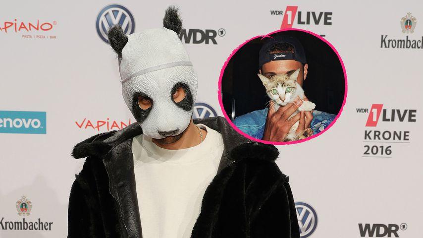 Cro: Zeigt der Panda-Rapper hier sein wahres Gesicht?