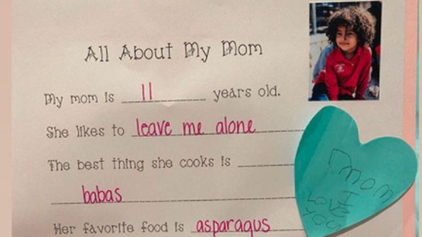 Kim Kardashians Muttertags-Brief von ihrem Sohn Saint West