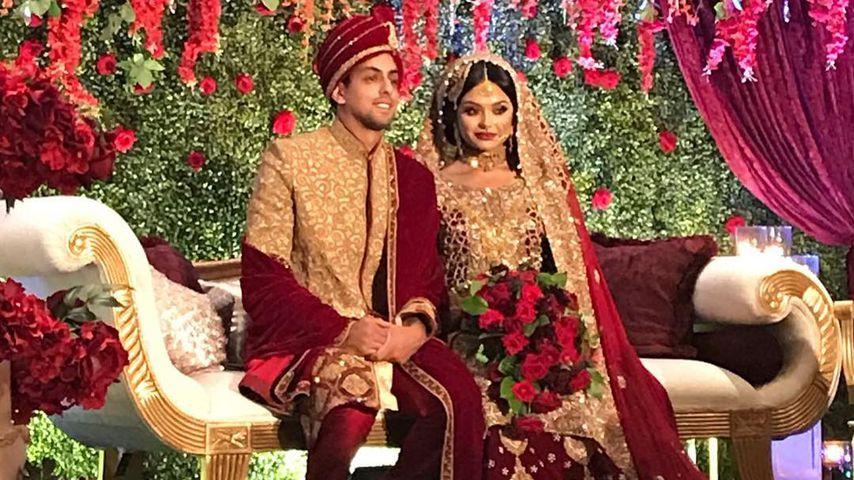 """""""Harry Potter""""-Hochzeit: Afshan Azad ist unter der Haube!"""