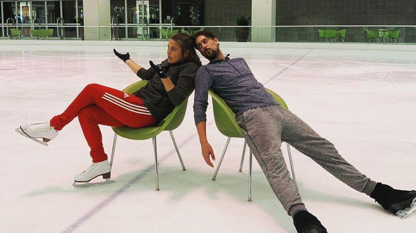 Nadine Angerer und David Vincour
