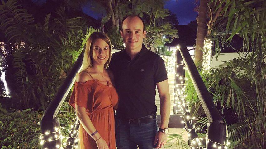 Nadine Illa mit ihrem Partner Stefan