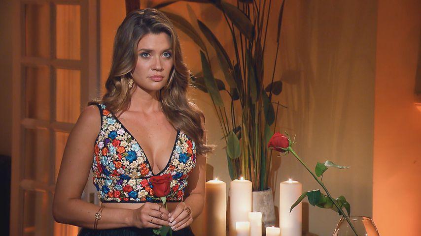 """Nadine Klein bei der Rosenvergabe, Halbfinale von """"Die Bachelorette"""" 2018"""