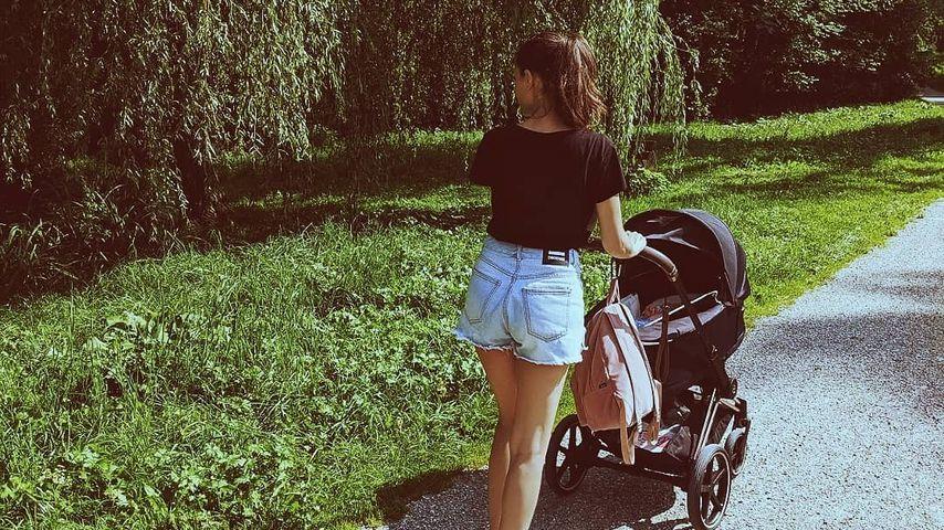 Nadine Menz und ihre Tochter Lia