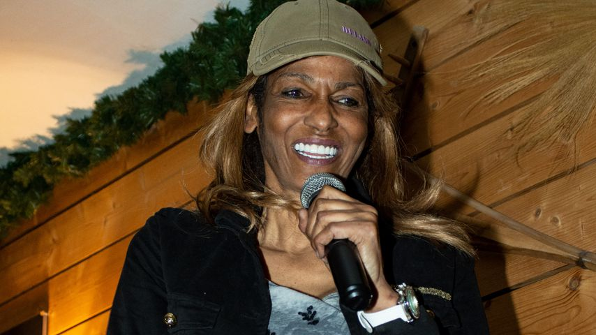 Nadja Abd el Farrag beim Auftritt in Krümels Stadl in Paguera auf Mallorca