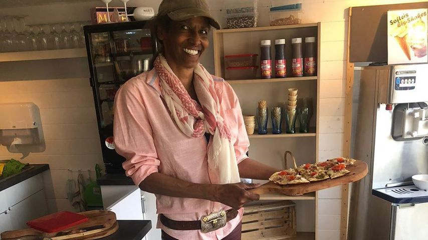 Neuanfang: Nadja Abd el Farrag arbeitet nun als Kellnerin!