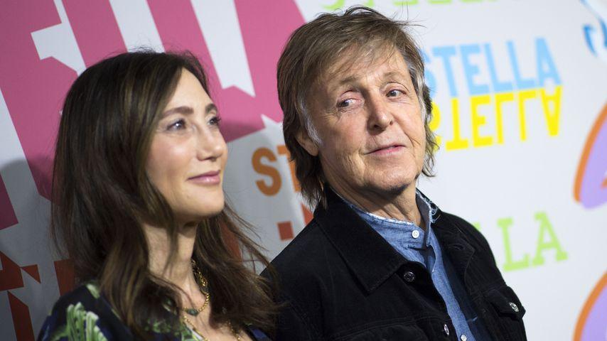Nancy Shevell und Paul McCartney in Hollywood, Januar 2018
