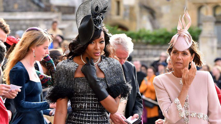 Naomi Campbell bei Prinzessin Eugenies Hochzeit