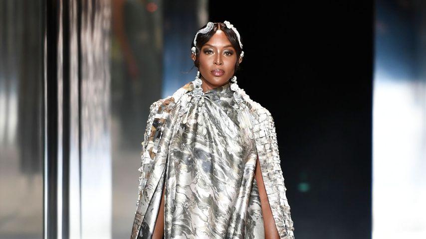 Naomi Campbell bei der Paris Fashion Week 2021