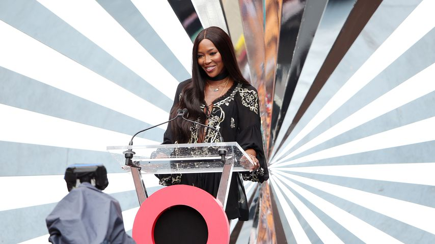 Naomi Campbell beim Global Citizen Festival 2018